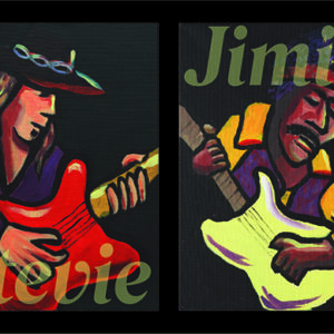 Jimi and Stevie