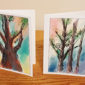Whispering Pines Notecards